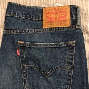514 Levi's jeans 34x30